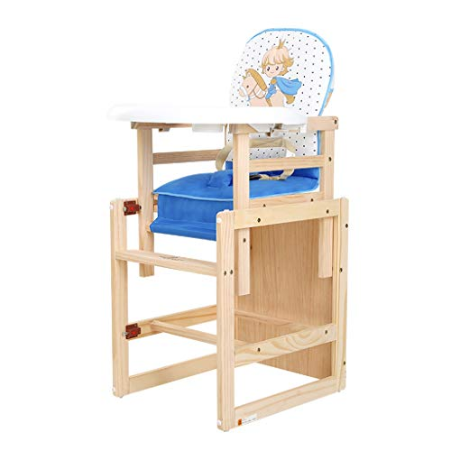 Poussette Pliable Chaise Haute Siège d'appoint Chaise de Salle à Manger pour Enfants Multifonctionnel en Bois Chaise de Salle à Manger pour bébé