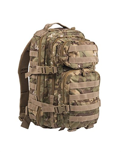 Mil-Tec EE.UU. Mochilla Assault Pack (Small/Woodland Arid