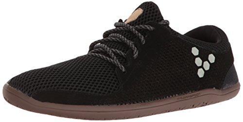 Vivobarefoot Women's Primus Trio Everyday Trainer Shoe Running, Black, 37 D EU (7 US)