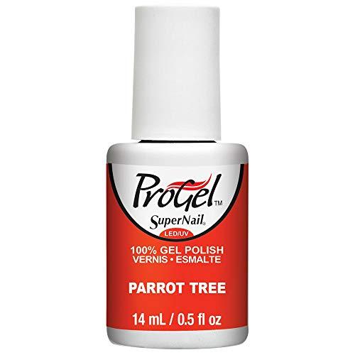 SuperNail ProGel LED/UV Vernis à Ongles - Festival Of Colours Collection 2016 - Parrot Tree - 14ml