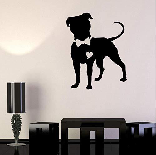 Ghgd Animale Del Farfallino Del Cane Da Caccia Di Pitbull Per La Decorazione Domestica 52.4Cm * 66Cm