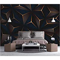 写真の壁紙3D立体空間カスタム大規模な壁紙の壁紙 シンプルなジオメトリリビングルーム現代リビングルームのテレビの背景寝室家の装飾壁画 -450X300cm(177 * 118インチ)