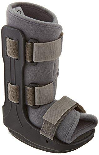 Sammons Preston 38963 Walking Boot for Kids, Medium Pediatric Walker, Comfort Fit Brace & Support for Children, Lightweight Padded Boot for Fractures, Foot Injuries, Ankle Sprains