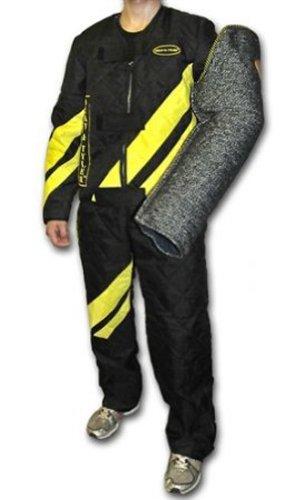 Dean & Tyler Rayures Combinaison avec Fermeture à glissière/Sangles Velcro et Bretelles réglables