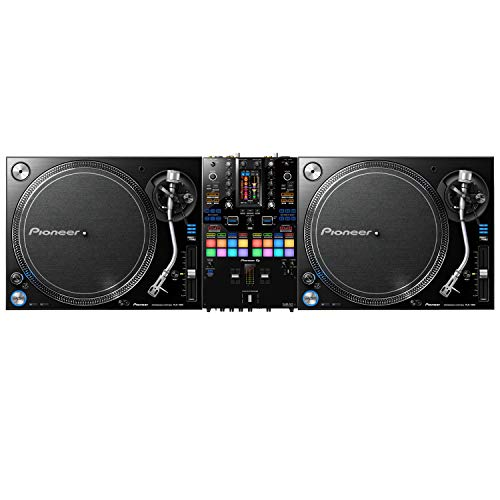 (2) Pioneer DJ PLX 1000 Turntable, Pioneer DJ DJM-S11 Mixer Bundle (ProSoundGear)