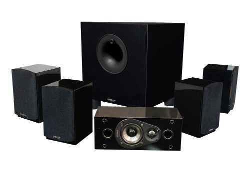 Hot Sale Energy 5.1 Take Classic Home Theater System (Set of Six, Black)