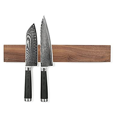 Zelancio ZEL-MKH-WAL Magnetic Knife Strips, Walnut