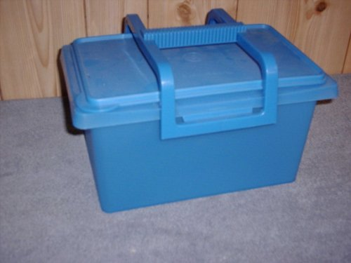 Tupperware Small Carry-all Container Blue