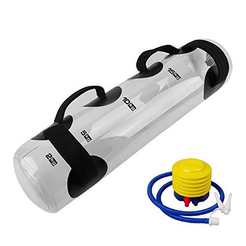 Nrpfell Bolsa de Agua Aguamarina con Soporte de Peso para Yoga Bolsa de Arena de Ejercicio Entrenamiento de Entrenamiento FíSico en el Gimnasio para Accesorios de Entrenamiento Efectivos