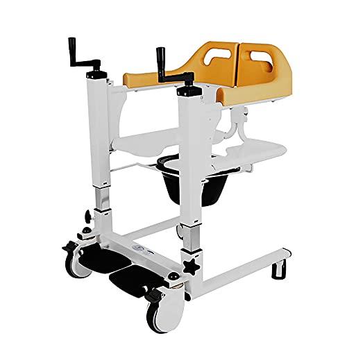 JW-YZWJ Ascensores para Casas, sillas móviles para Ancianos y discapacitados, y sillas de baño con Productos básicos, Palanca de traslado, Silla de traslado en Movimiento de la Inodoro.