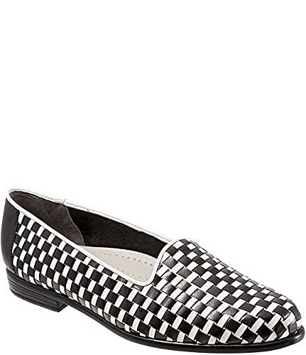 [トロッターズ] シューズ 25.5 cm パンプス Liz Woven Leather and Patent Block Heel Black/Whit レディース [並行輸入品]