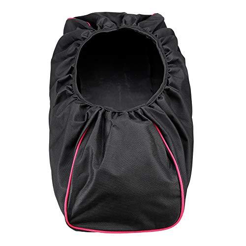 Seilwinde, 600D Denier, Oxford-Gewebe, strapazierfähig, wasserfest, passend für 8.000 bis 17.500 Pfund Winden, schwarz
