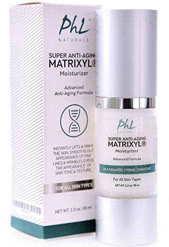 Anti Aging Face Cream with Peptides - Best Moisturizer for Wrinkles, Lifts and Firms Skin, Smooths Wrinkles and Fine Lines for a More Radiant and Younger Looking Complexion - 1 oz (1.0 fl.oz./30 ml)