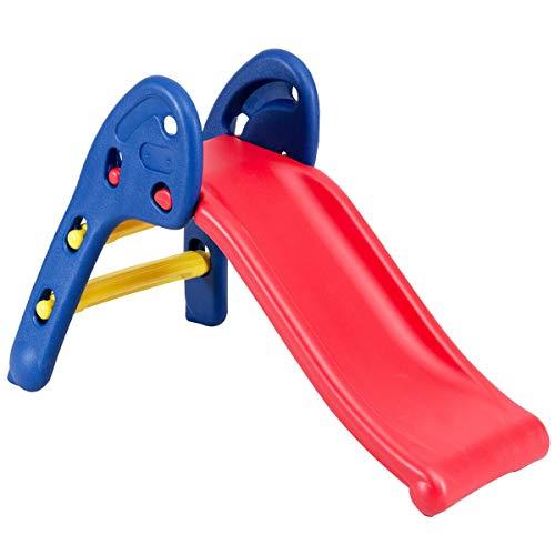 AchieveUSA 2 Step Children Folding Plastic Slide
