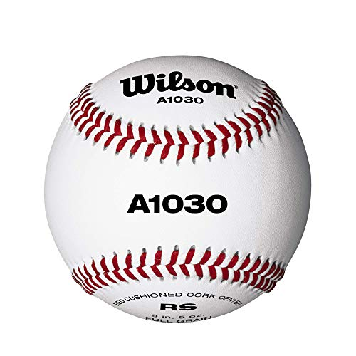 Wilson Unisex Official League Baseball, Weiß, 9 Zoll EU