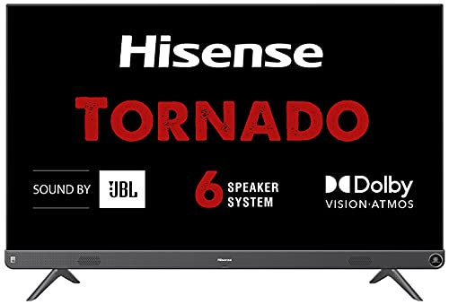 Hisense 126 cm (50 inches) 4K Ultra HD Smart Certified Android LED TV 50A73F (Metal Gray) (2021 Model)   With 102W JBL Speakers