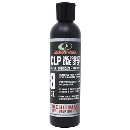 Mossy Oak Gun Oil | AllinOne | Cleaner Lubricant Protectant CLP | OneStep Gun Cleaner and Gun Oil Lubricant | 8oz Bottle of CLP Gun Cleaner and Lubricant 8 oz Bottle