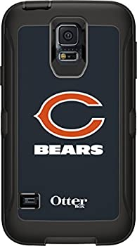 OtterBox Defender Case for Samsung GALAXY S5 - Retail Packaging - NFL Bears  Black Chicago Bears NFL Logo