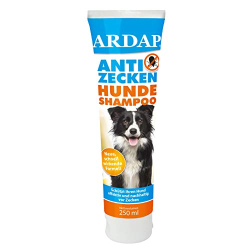 ARDAP Anti Zecken Shampoo für Hunde 250ml - Nachhaltiger Zeckenschutz & hygienische Fellpflege
