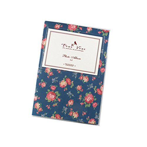 insho de ancho 80bolsillos 5pulgadas de flores Fuji Instant Mini libro Álbum de fotos