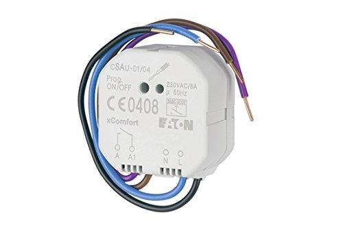 Eaton xComfort Funk Schaltaktor potentialfrei mit Tastfunktion, CSAU-01/04 (121080)