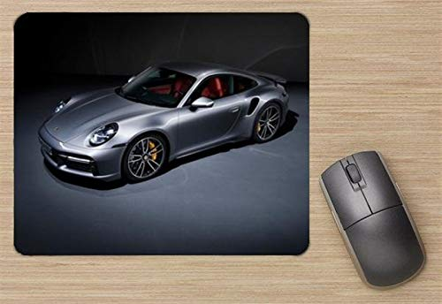 Price comparison product image Celebrity Print Posters Porsche 911 Turbo S 2021 Mouse Pad,  Printed Mousepad