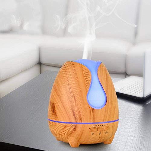 YNHNI Deumidificatori Wood Water Drop Aromaterapia Aroma Umidificatore Umidificatore Ultrasonico Muto colorato
