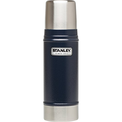 Stanley Classic Vacuum Insulated Wide Mouth Bottle - BPA-Free 18/8 Stainless Steel Thermos for Cold & Hot Beverages – Keeps Liquid Hot or Cold for Up to 24 Hours –