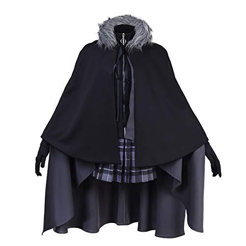 COSEASY Cosasy Lord El-Melloi II - Juego Completo de Ropa para Disfraz, Color Gris - Negro - XXL