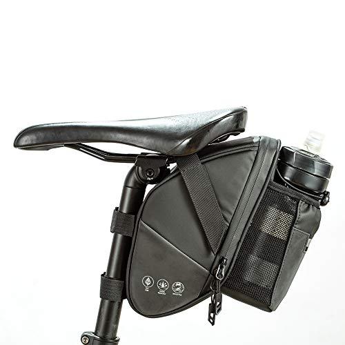 Lixada 1.5L ImpermeableBotella de Agua Bolsa de Cola Reflectante Bolsa de Bicicleta Universal Bolsa de Sillín de Asiento Bolsa de Botella de Agua