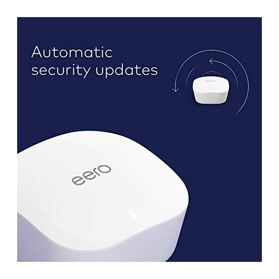 Amazon eero mesh wifi router 4 fast standalone router - the eero mesh wifi router brings up to 1,500 sq. Ft. Of fast, reliable wifi to your home. Works with alexa - with eero and an alexa device (not included) you can easily manage wifi access for devices and individuals in the home, taking focus away from screens and back to what's important. Easily expand your system - with cross-compatible hardware, you can add eero products as your needs change.