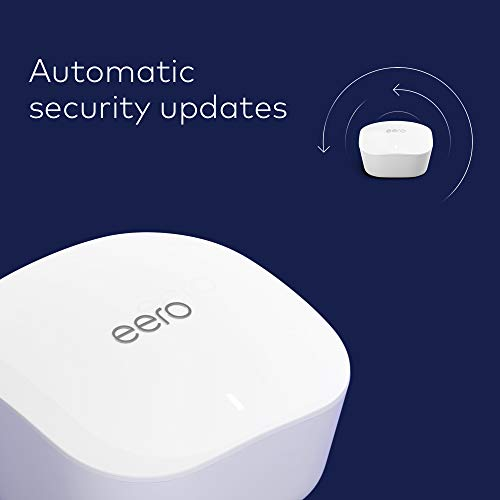 Amazon eero mesh WiFi system – router for whole-home coverage (3-pack)