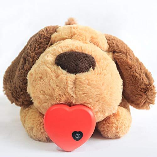 Hundespielzeug Herzschlag Plüschtier Zum Kuscheln Herzschlag Kuscheltier Welpe Verhaltenstraining Hilfe Herzschlag Spielzeug Zur Trennung Von Angstzuständen Zur Beruhigung Für Hunde Katzen