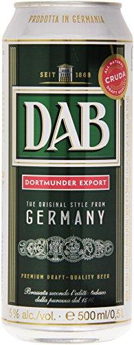 Dab - Birra, Brassata secondo l'editto tedesco della purezza del 1516 - 500 ml - [confezione da 8]