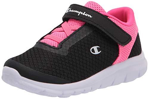 Champion Black Pink Girls' Toddler Performance Gusto Cross Trainer 6 Regular
