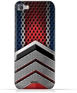Infinix Zero 3 X552 TPU Silicone Protective Case with Geometric Mesh Pattern Design