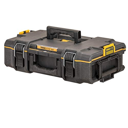 DeWalt DS165 DWST83293-1 (ToughSystem 2.0, caja de herramientas pequeña para uso general, IP65 a prueba de polvo y salpicaduras, carga máxima 50 kg)