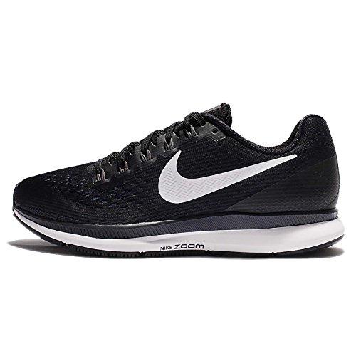 Nike Zapatillas de correr WMNS Air Zoom Pegasus 34 para mujer, color Negro, talla 38.5 EU