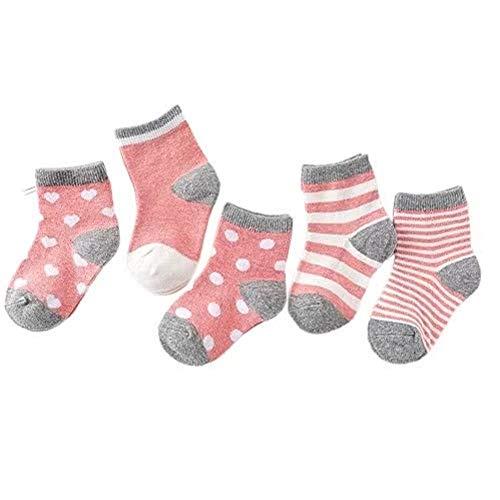 GUICAMI Baby Sockenbaby Mädchen Baby Boy Boden Anti-Rutsch-Kinder Winter Warme Kindersocken 80% Baumwolle Kinder Baby