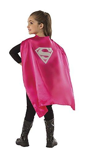 Rubies - Capa de disfraz Supergirl para niños, Talla única infantil (Rubie's 36799)