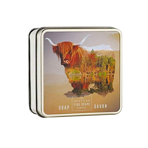 Scottish Fine Soaps Soap In A Tin Highland Cow 100g
