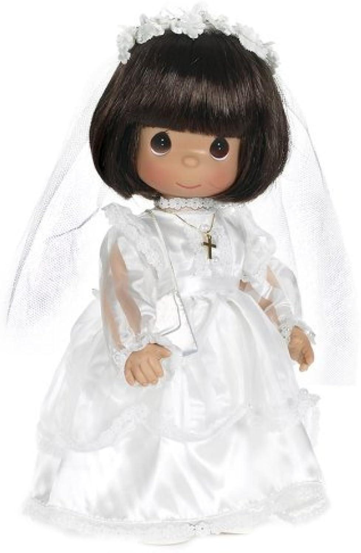 Entrega rápida y envío gratis en todos los pedidos. The Doll Doll Doll Maker My First Communion Baby Doll, Brunette, 12  by The Doll Maker - Juguetes  conveniente