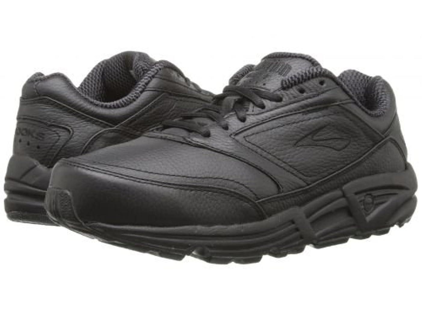 アミューズで出来ているおじいちゃんBrooks(ブルックス) レディース 女性用 シューズ 靴 スニーカー 運動靴 Addiction(TM) Walker - Black [並行輸入品]