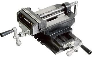 Klutch Cross Slide Drill Press Vise - 5in. Jaw Length