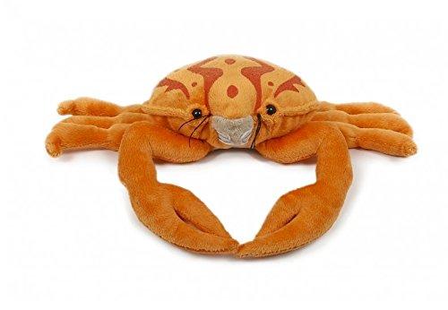 Unbekannt Plüschtier Krabbe ca. 25cm Krabben Kuscheltiere Stofftiere Krebse Tier Tiere Orange