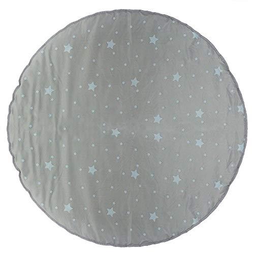 Atmosphera - Tapis pour tipi Gris D 120 cm