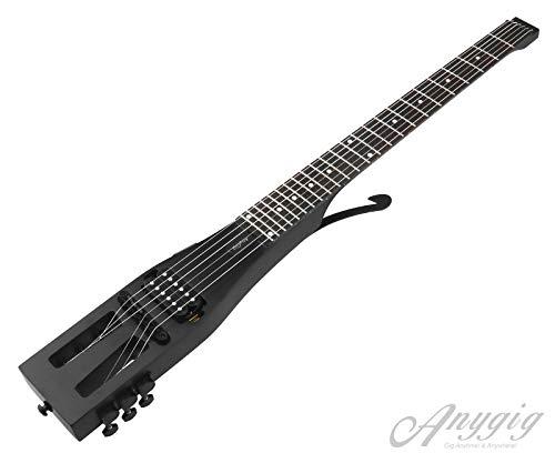 Anygig AGESE Guitarra eléctrica tipo U de arce duro para vi