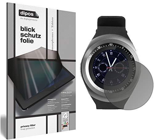 dipos I Blickschutzfolie matt kompatibel mit TrendGeek TG-SW1 Smartwatch Sichtschutz-Folie Display-Schutzfolie Privacy-Filter