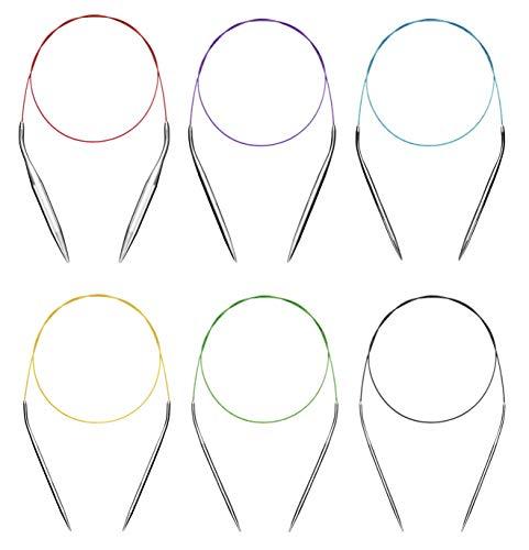Seawhisper Rundstricknadel Set 100cm Stricknadeln Stricknadel Nadelspiel Knitting Needles 2 3,5 4 4,5 5 5,5 6 8 9 10