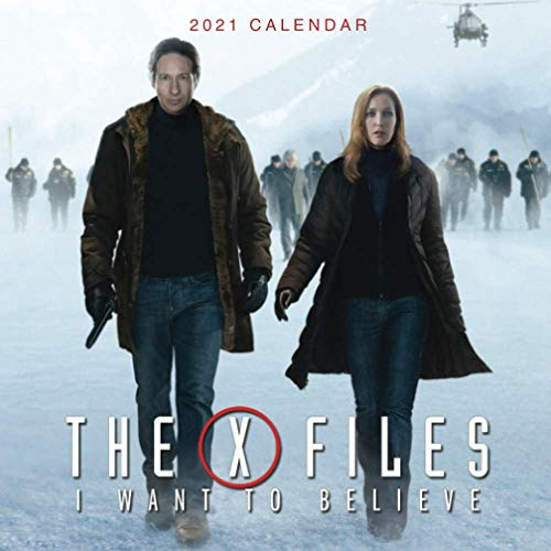 The X Files: Mini size 7''x7'' Calendar 2021 with your favourite TV show!!!